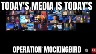 Today's media is todays Operation Mockingbird
