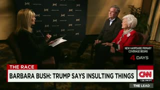"Barbara Bush: ""I'm sick of"" Donald Trump"
