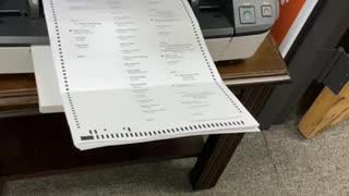 Dominion Voting Machine Flaws -- 2020 Election Coffee County, Georgia Video 1