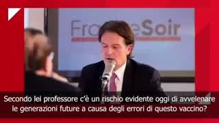 Luc Montagnier non farà vaccino Covid