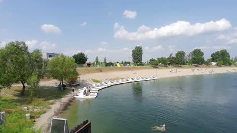 Senec, Slnečné jazera - 20.07.2021 - mrtvá sezóna.