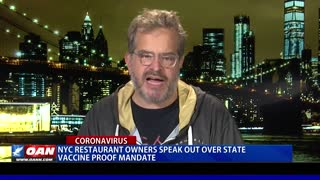 NYC restaurant owners speak out over state vaccine proof mandate