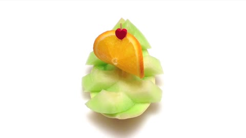 DIY: How to make a sailboat with a honeydew melon