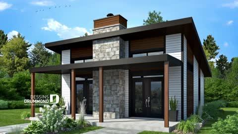 Plan De Maison Style Fermette Moderne De