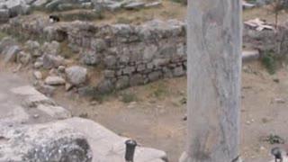Iluminación de exteriores en Éfeso