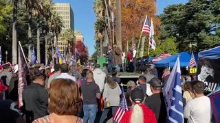 StopTheSteal _ California State Capitol Protest Sacramento, CA Week 4 November 28, 2020 IMG 2828