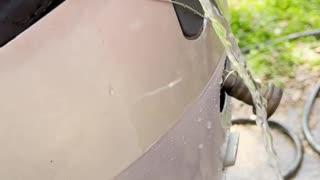 Test #3 1997 Honda BF90A - Water Pump Output
