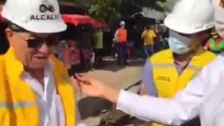 Jocosa declaración del alcalde Dau