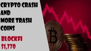 Crypto Investing Ep 49-Crypto Crash and More Trash Coins