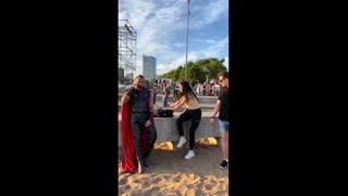 Thor Hammer Prank in Public