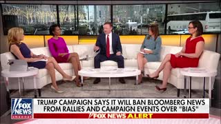 Trump Campaign Says It Will Ban Bloomberg News From Events