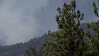 Lightning strikes stoke forest fires in Canada