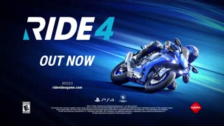 Ride 4 - Launch Trailer Play Station 4