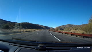 Driving down US 93 from Wittenburg