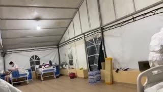 Nigeria COVID-19 isolation centre