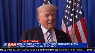President Trump Meets with OAN to Discuss Class Action Lawsuit Against Big Tech