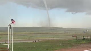 Wyoming Tornado Touches Down