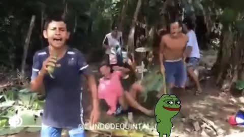 Another horrendous meme from me. 😂🐸