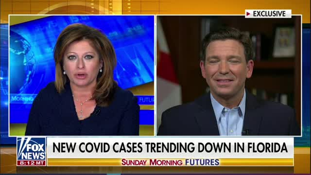 Gov. DeSantis: No Federal Vaccine Mandates in Florida, Our Ports Are Open 24/7