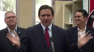 DeSantis: 'The Crazy People Are the Ones that Are Vaccinated Still Wearing Six Masks in NYC'