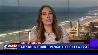 States begin to rule on 2020 election law cases