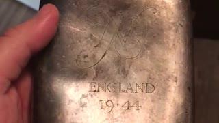 Thanksgiving video #1 Lt. Johnson's Flask