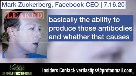 Whistle Blower Exposes Mark Zuckerberg Vaccine Fears