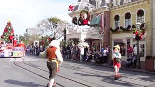Walt Disney World Magic Kingdom 2020 Christmas Cavalcade