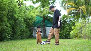 Man playing With kid