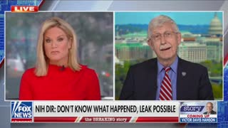 Martha MacCallum speaks with NIH Director Dr. Francis Collins