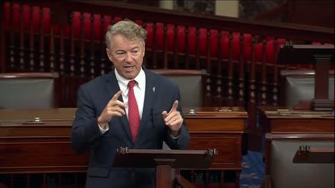Senator Paul Addresses National Debt Crisis During Senate Floor Speech Part 2 - October 7, 2021
