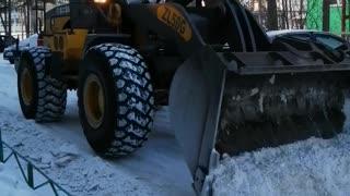 Good snow removal.