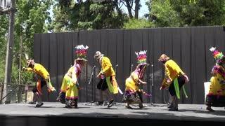 Bolivian cultural dance music in Santiago, Chile