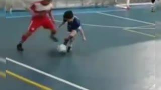 Instant revenge from the little boy 🥶😲
