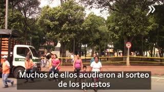 Ambulantes centro de Bucaramanga