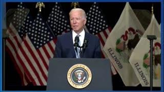 President Biden in Illinois on the bipartisan infrastructure agreement