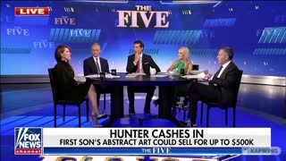 """Hunter Biden's """"Art"""" Could Sell for Up to 500k"""