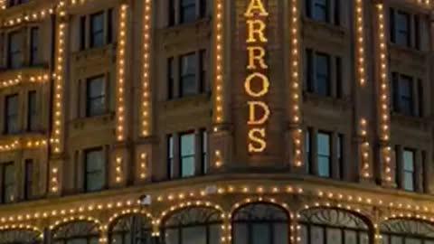 Harrods night view