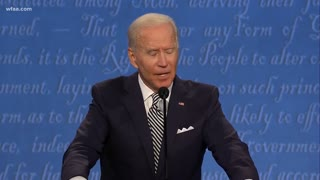 Joe Biden Calls Donald Trump A B***