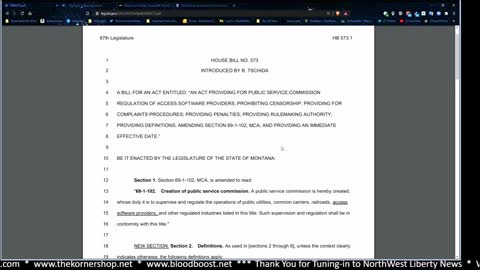 Montana Poised to End Big-Tech Censorship with HB 573