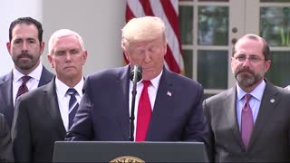 Trump Declares National Emergency on 3/15/2020