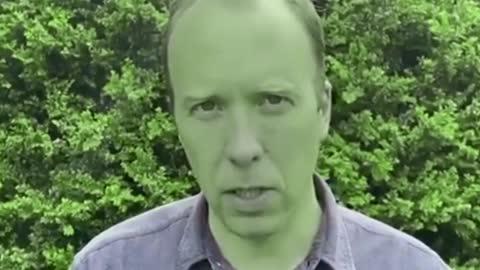 Green Faced Matt Hancock Resigns After Affair - Queen Says He's Full Of BLEEP - Spoof