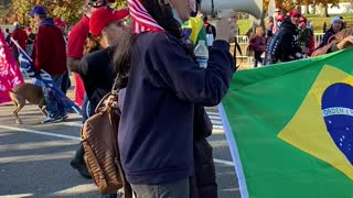 Brazilian American Sings National Anthem At #MillionMAGAmarch