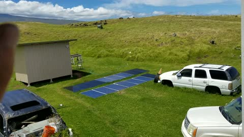 Guy Builds Solar and Wind Powered Bitcoin Minning System