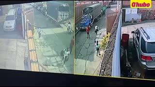 Video de capturados por hurto en Santander