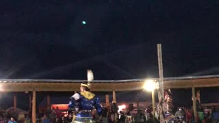 Native Dance with a Natural Light Show