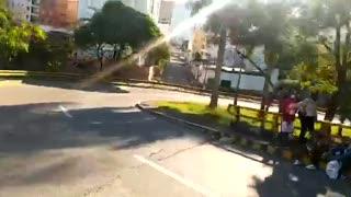 Caos vehicular en Bucaramanga por protesta del Paro Nacional