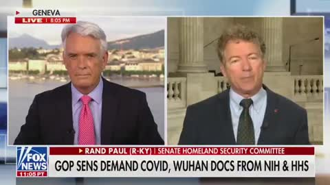 Dr. Rand Paul Demands Answers on COVID