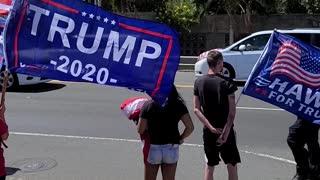 Trump Rally Hawaii Kai