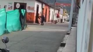 Video: Un francotirador hirió a un Policía en Teorama, Norte de Santander